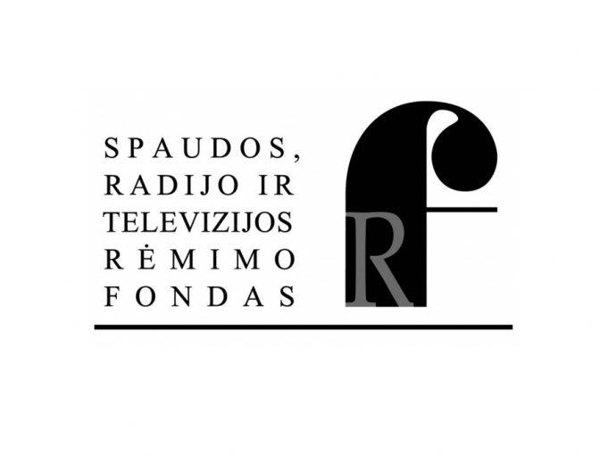 Spaudos, radijo ir televizijos rėmimo fondo logotipas.