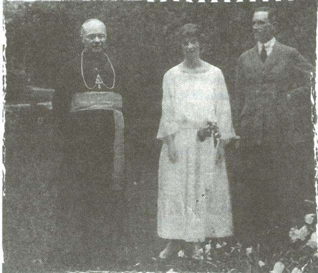 Bronislavo Marijos Komorovskio protėviai (dešinėje).