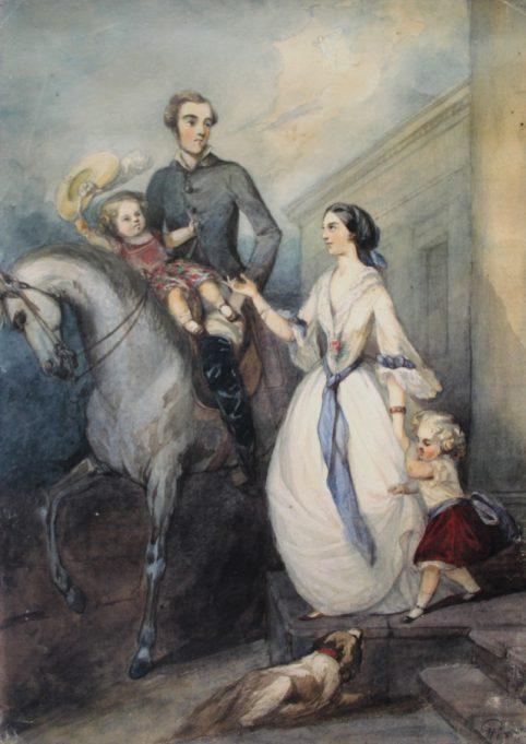 Marijos Tyzenhauzaitės paveikslas.