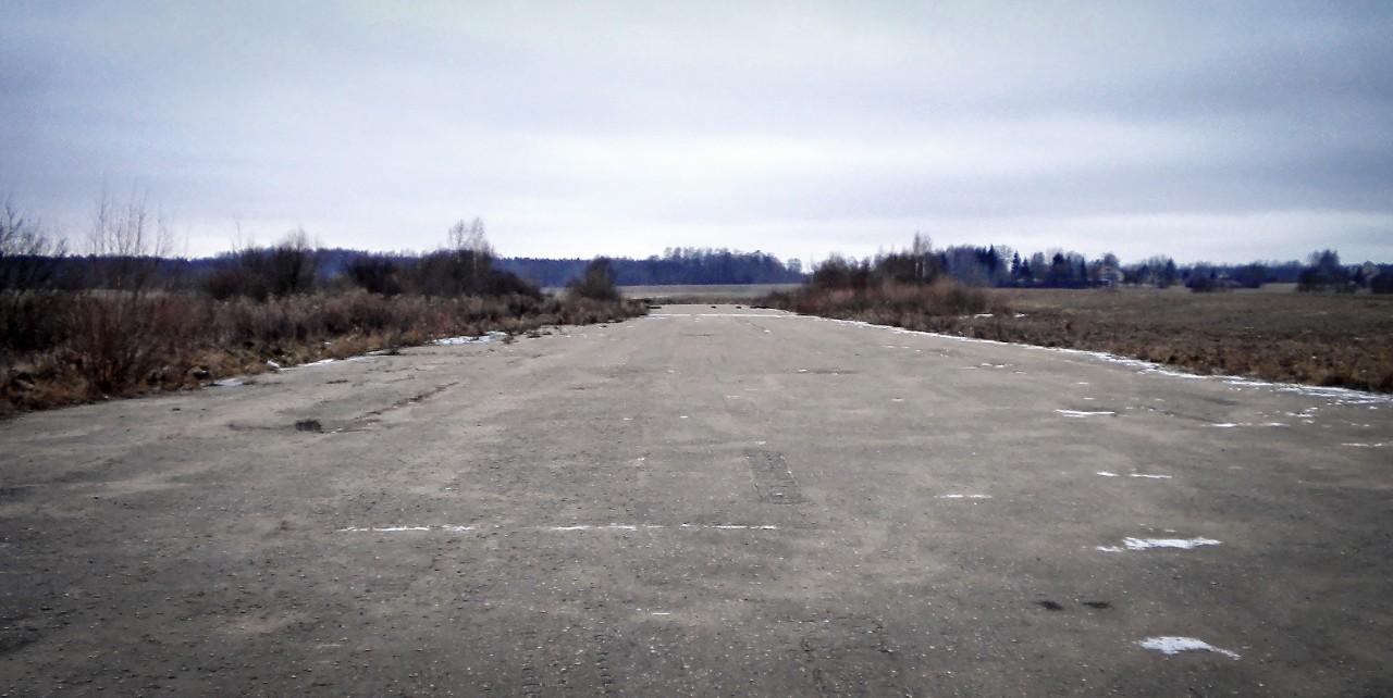 Lėktuvų pakilimo ir nusileidimo takas buvo nutiestas 1984 m.