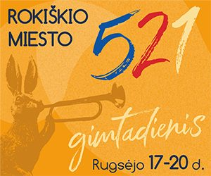 Rokiškio miesto 521 gimtadienis 2