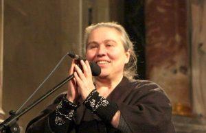 Gražina Kadžytė šiųmečiame Išsipildymo koncerte. Asmeninio archyvo nuotr.