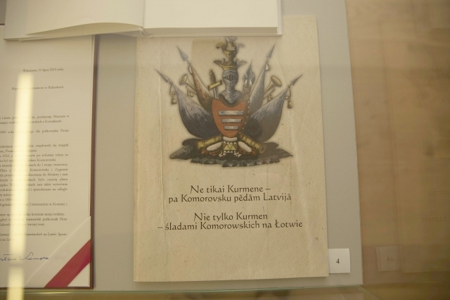Lenkijos prezidentas Rokiškiui dovanojo istorinius dokumentus