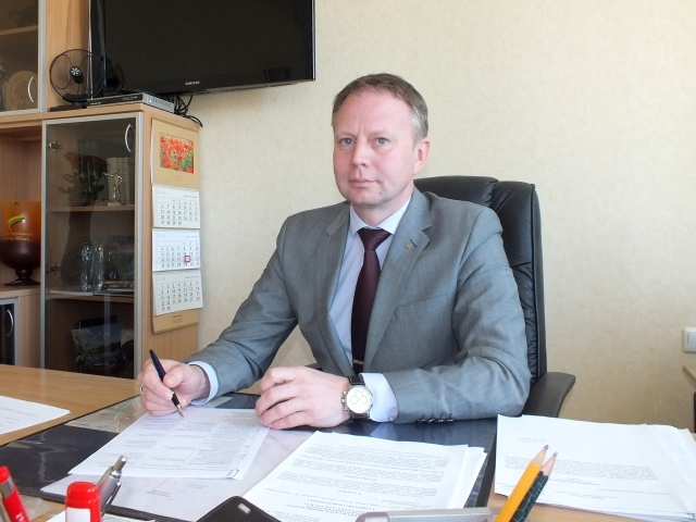 Rajono savivaldybės administracijos direktorius Valerijus Rancevas. Redakcijos archyvo nuotr.