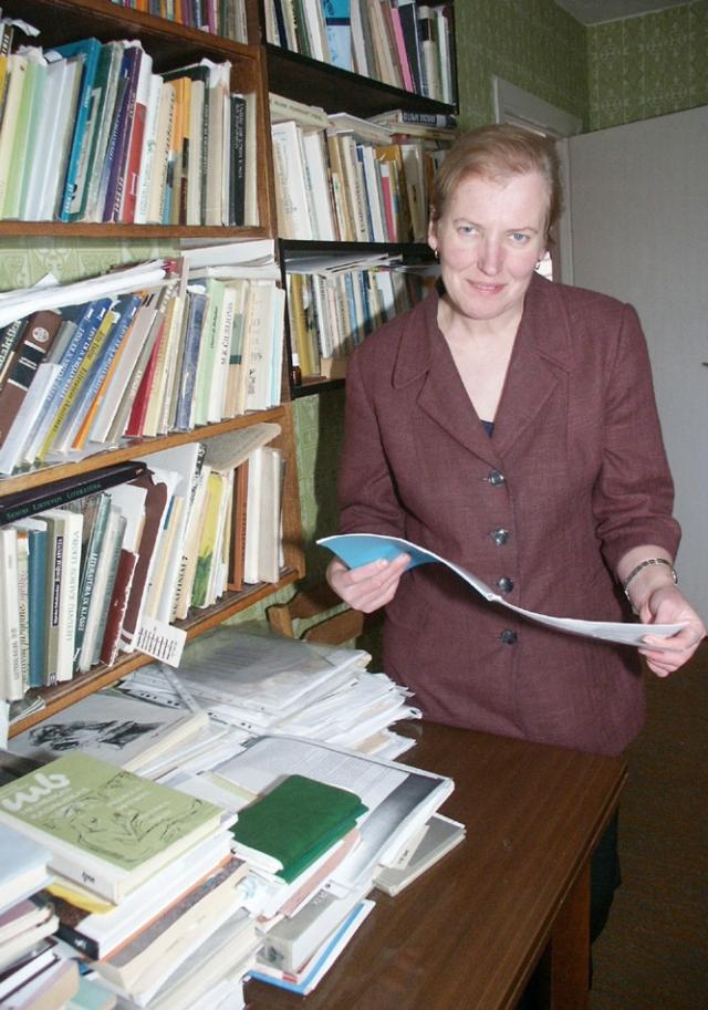 Mokytoja  Irena VARNIENĖ.